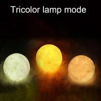 880ML Aroma Essential Oil Air Humidifier 3D Moon Lamp light Diffuser