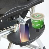 Baki Kursi Lipat Portable Universal Bahan Plastik Untuk Taman