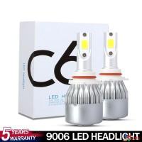C6 9006 Lampu Depan Mobil 72W 8000LM 72W 8000LM 9-32v Warna Kuning