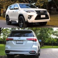 Bodykit Toyota Fortuner VRZ Ativus Style ABS Plastic High Quality