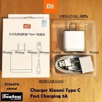 Charger Casan XiaoMi Type C 3A Fast Charging Mi4C Mi5 Mi5S Mi5X M