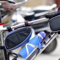 Botol Air Minum Portable Bahan Silikon 600ML Anti Bocor untuk Travel