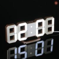 ♡ Jam Dinding Digital LED Ukuran Besar Multifungsi 12H / 24H