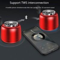 DOU Mini Wireless Bluetooth 5.0 Speaker Stereo Sound TWS Speaker