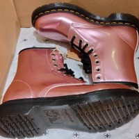 Dr Martens 1460 pascal in leather Mallow Pink