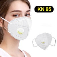 Masker N95 / KN95 Repirator + Valve