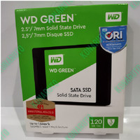 SSD WD Green 120GB Sata 3 - WDC Green 120 GB 2.5 Sata3