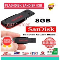 USB FLASHDISK 8GB CRUZER BLADE SANDISK CZ50 USB FLASH DISK 8 GB ORI