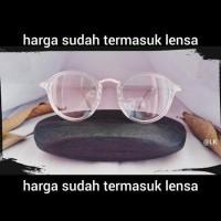 frame kacamata minus korea oval bening