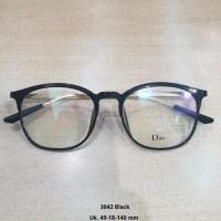 kacamata minus normal plus silinder Anti Radiasi frame oval plastik