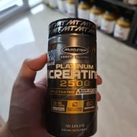 Muscletech Platinum Creatine 120 tab untuk 60 serv creatine muscletech