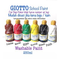 250ml Washable Paint Cat Air School Paint GIOTTO 5308xx ATK0950GT