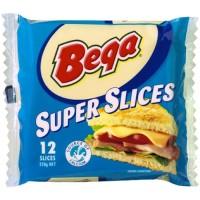 BEGA Cheese Super 12 Slices 200 Gr - Keju Cheddar Lembar