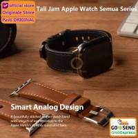 Ringke Leather One Strap Apple Watch Series 5 4 3 2 1 44 42mm Tali Jam - Hitam