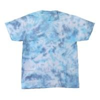Tie Dye T-Shirt Marble Blue