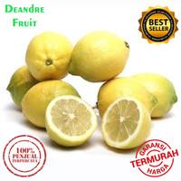 PROMO TERMURAH 1kg Jeruk Lemon California Buah Jeruk Lemon Premium