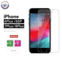 Tempered Glass iPhone 6 Plus 6S Plus 7 Plus 8 Plus Anti Gores 9H Glass