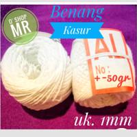 Benang Kasur (Rami) / Tali Bendera / Tali Ikat Uang Kertas (uk.1mm)