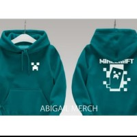 jaket anak hoodie minicraft