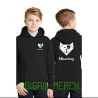 jaket hoodie anak miauaug