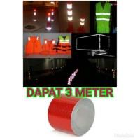 STICKER STIKER MEMANTULKAN CAHAYA MOBIL TRUCK PICK UP TRUK DPT 3 METER