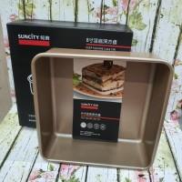 suncity square baking pan 8 /loyang kue bongpas