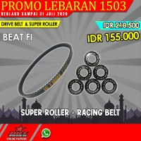 Paket Super Roller & V Belt BRT Honda Beat Fi Injection