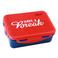 TEMPAT MAKAN 750ML - HAVE A BREAK, BROS LUNCH BOX