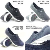 Sepatu karet jaring pria slip on ATT PSO 159