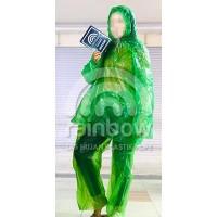 Jas Hujan Plastik Set - Baju dan Celana