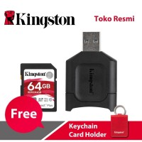 Kingston SD Card Canvas React Plus Class 10 SDXC 64GB