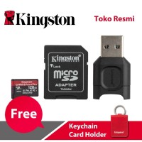 Kingston MicroSD Card Canvas React Plus Class 10 MicroSDXC 128GB