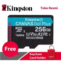 Kingston MicroSD Card Canvas Go! Plus Class 10 MicroSDXC 256GB