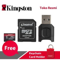 Kingston MicroSD Card Canvas React Plus Class 10 MicroSDXC 256GB