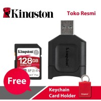 Kingston SD Card Canvas React Plus Class 10 SDXC 128GB