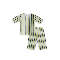 Cocohanee Green Yellow Striped