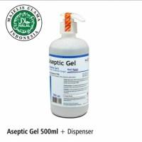 Aseptic Gel 500ml Onemed /pump Hand Sanitizer Antiseptic Gel