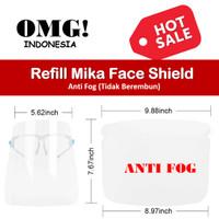 Refill Mika Anti FOG APD Face Shield Kacamata Anak Anak Artis Hijab