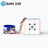 Rubik 3x3 Gan 330 Keychain 3x3x3 GAN 330 Stickerless Gantungan Kunci