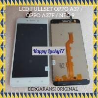 LCD FULLSET OPPO A37 / OPPO A37F / NEO 9 BERGARANSI ORIGINAL - PUTIH