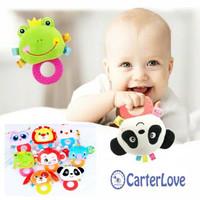 Rattle Stick Teether /Mainan Edukasi Bayi dengan Teeher/ Mainan Bayi - Puppy, RTH