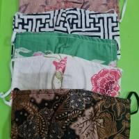 Masker Batik Bisa di isi Tissue