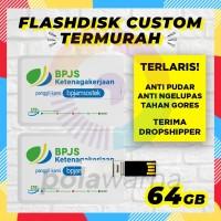 Custom Flashdisk Promosi 64GB / USB Flashdisk Custom Printing 64 GB