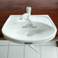 Wastafel Portable Plastik Praktis Instant Lengkap