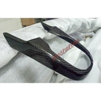 cover panel transmisi Jazz GK5 2014 2020 up Real Carbon