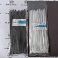 Kabel Ties 20cm isi 100pcs - Putih