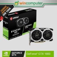 MSI Geforce GTX 1660 Ventus XS 6G OC GTX1660 6GB DDR5