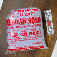 (PROMO) Abon Sapi Solo Asli Mesran 100gr & 250gr Murah Meriah