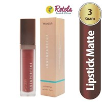 Wardah Instaperfect Mattesetter Lip Matte Paint 02 Dear 5.5 G