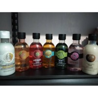 Shower gel 250 ml the body shop strawberry almond mango wild argan